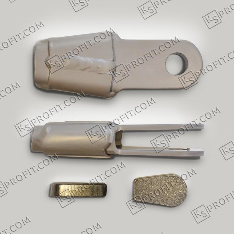 Зажим ЗКК-1 (грунтованный)