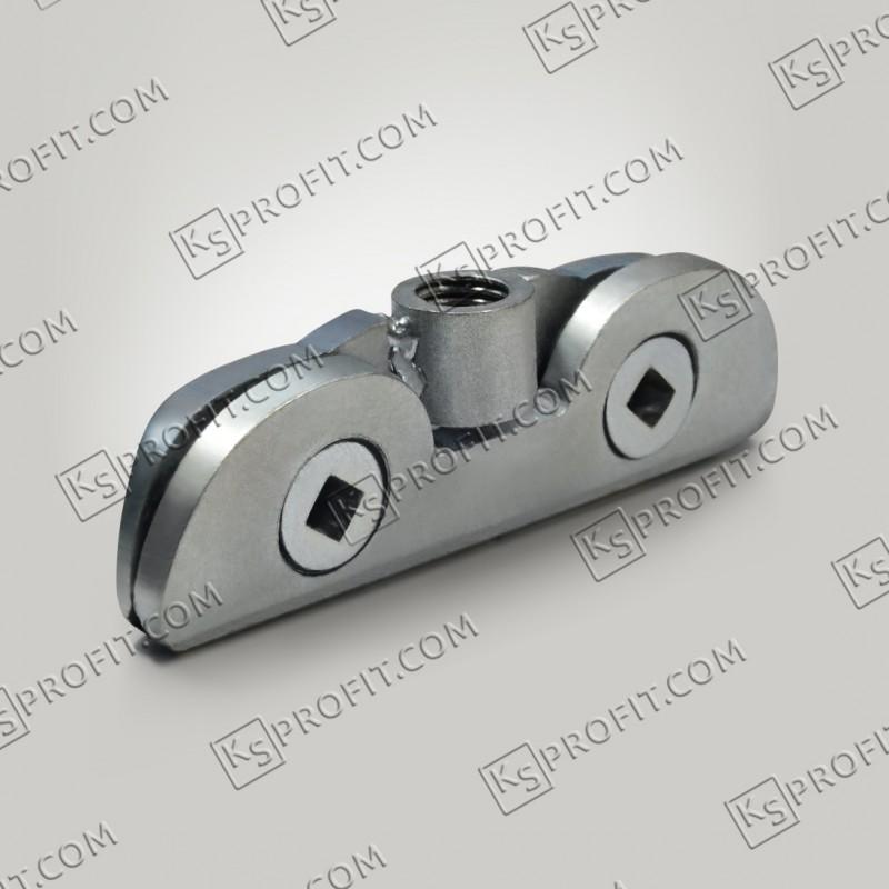 Зажим подвесной двухвинтовой (ЗПВ) оцинкованный